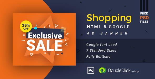 Online Shopping - HTML5 Animated Banner 13