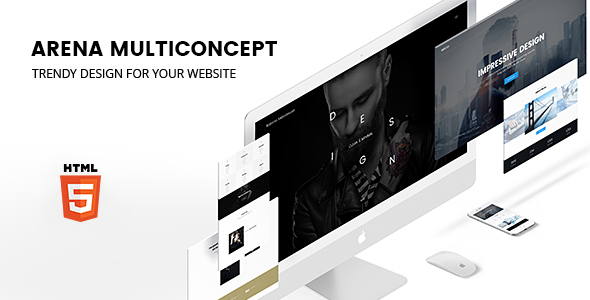 ARENA — Multiconcept HTML5 Template