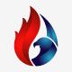 Eagle Flame Logo