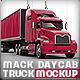 Road Truck based Mack pinnacle Mock-up