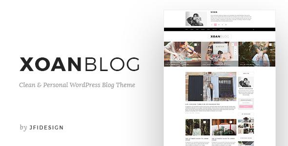 XoanBlog – Clean &amp Private WordPress Weblog Theme (Weblog / Magazine)