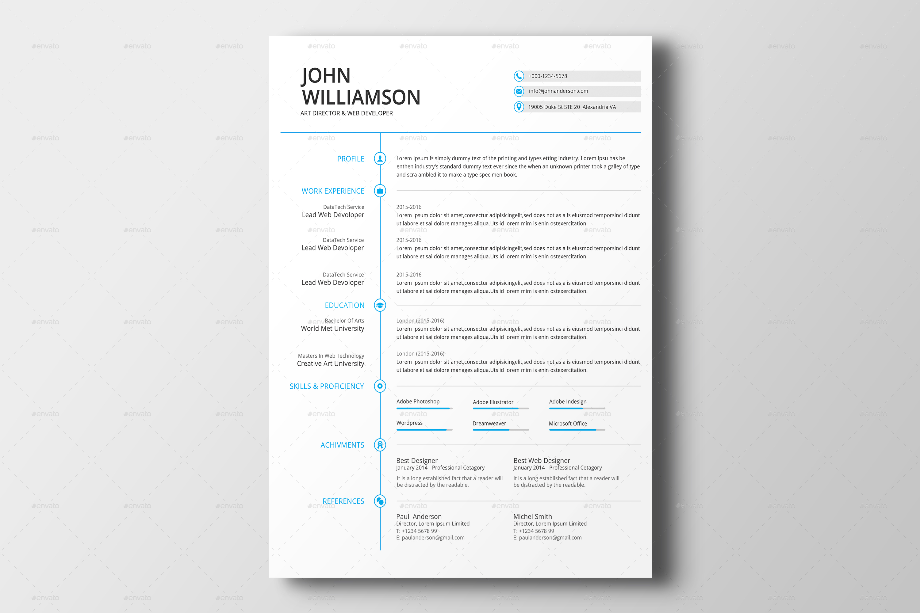 Charming 1 Year Experience Resume Format For Manual Testing Small 1.25 Button Template Flat 12 Month Timeline Template 16 Birthday Invitation Templates Youthful 17 Worst Things To Say On Your Resume Business Insider Green18 Year Old Job Resume Resume \u0026 Cover Letter By DesignsTemplate | GraphicRiver