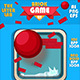 Red Ball Brick Game GUI