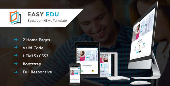 Download Easy-Edu Education HTML Template