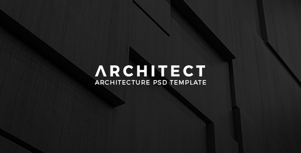 Architect - Architecture PSD Template