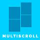 Multi Scroll - split slider for visual composer