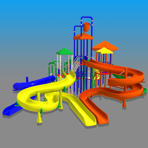 Big Toys Playground - 3DOcean Item for Sale