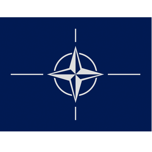 Nato Flag - 3DOcean Item for Sale