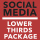 Social Media Lower Thirds Package