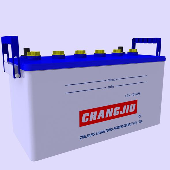 3DOcean Car Battery 19238888
