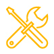 120 Tools and Construction Line Icon