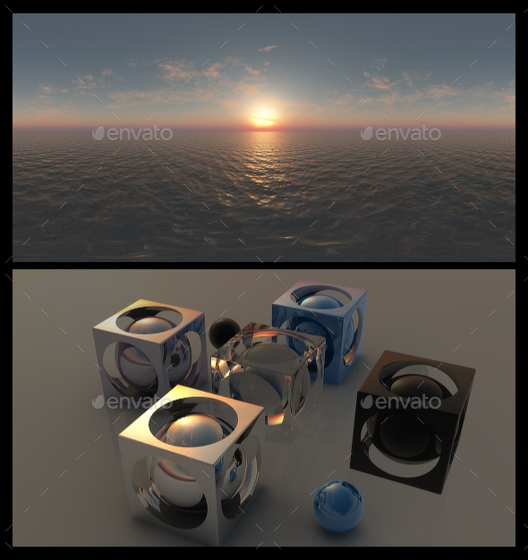 Ocean Dawn 12 - HDRI - 3DOcean Item for Sale