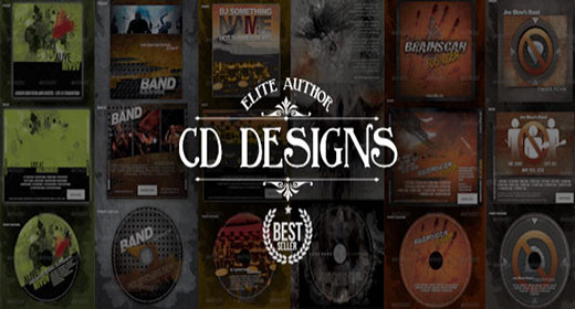 CD & DVD Cover Templates