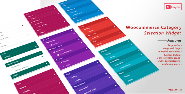Download WooCommerce Category Selection Widget nulled download