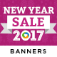 New Year Sale Banners