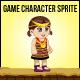 Little Girl Southeast Asian Sprite Character
