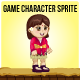 South East Asian Girl Sprite Character