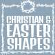 Christian Themed Shapes