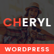 Cheryl - Responsive Design WordPress Magazine & Blog Theme
