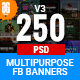 Facebook Ad Banners (Vol-3) - 250