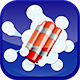 Demolition by explosion - HTML5 (.capx). Export to Android and IOS