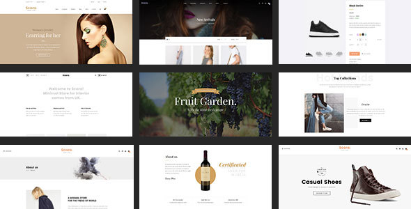 SCARA - Multipurpose HTML Template for Online Store