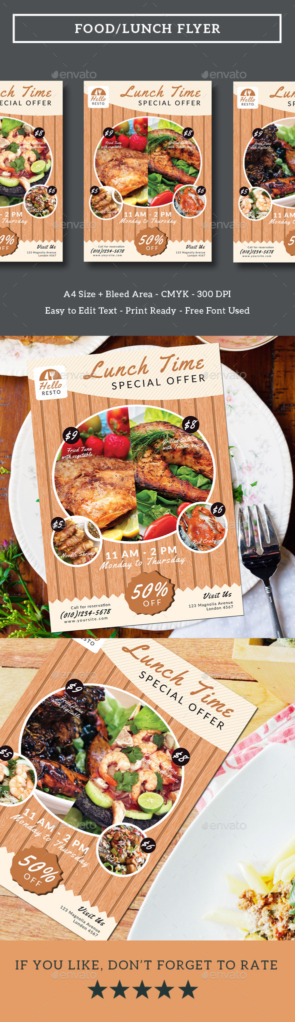 Food/Lunch Flyer