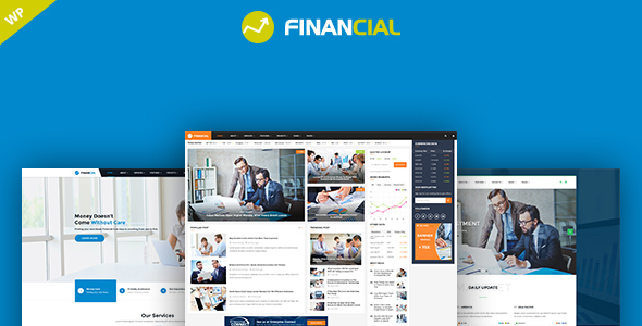 Download Financial - Business and Financial WordPress Theme nulled download