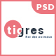 Tigres - PSD Ecommerce Template