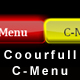 Coourfull Web 2.0 C-Menu (XML-driven) - ActiveDen Item for Sale