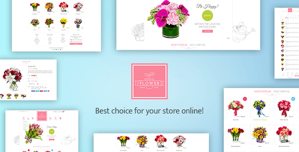 Flower Responsive Shopify Theme - Flowerify
