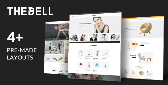 Download Thebell - Multipurpose Responsive Magento Theme nulled download