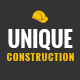 UNIQUE - Construction Company PSD Template