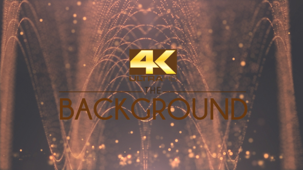 VideoHive Abstract Cathedral Gold Ceremonial Particle 19244227