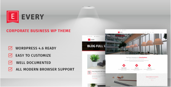 Download Every-Corporate Business Theme nulled download