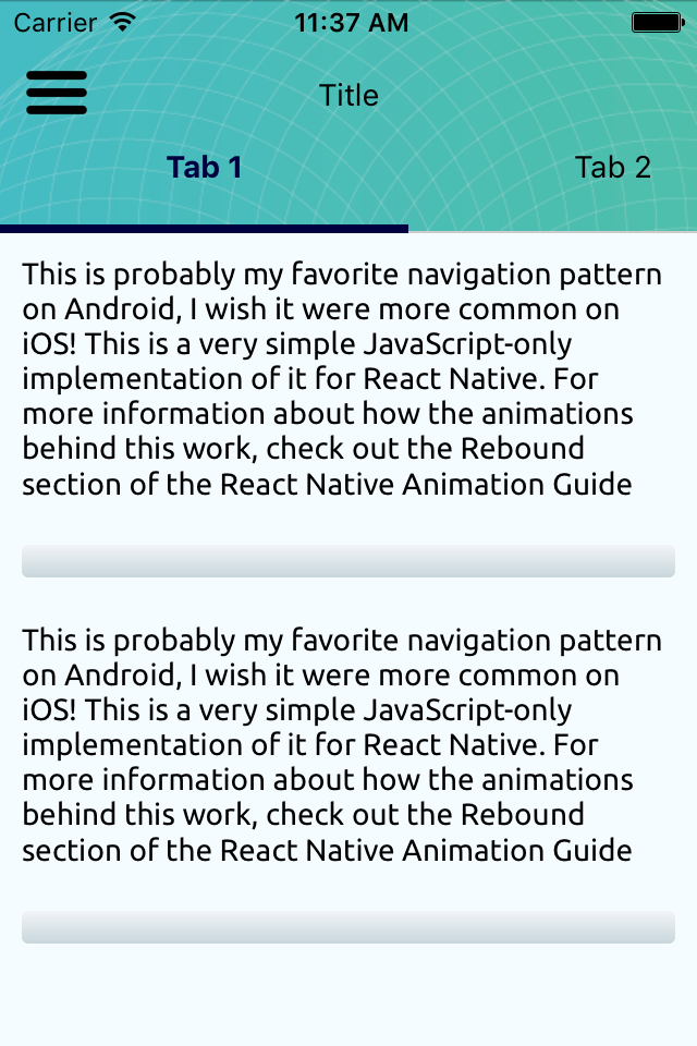 react native bootstrap by theawesomecoder codecanyon. Black Bedroom Furniture Sets. Home Design Ideas