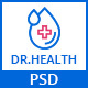 DR.HEALTH - Modern and Creative PSD Template