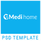 Medihome-Medical PSD Template