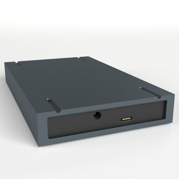 USB External Hard Disk - 3DOcean Item for Sale