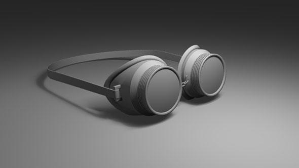 Welding Goggles - 3DOcean Item for Sale