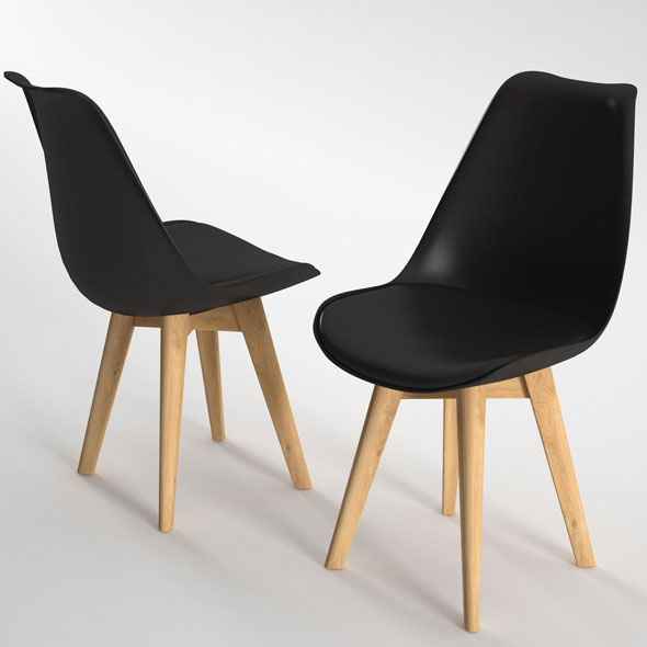Habitat Jerry Dining Chair - 3DOcean Item for Sale