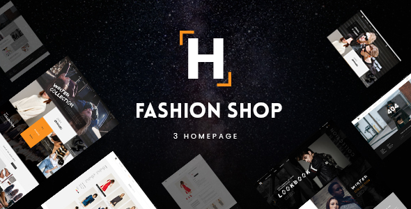HShop – Style Shop PSD Template (Purchasing)