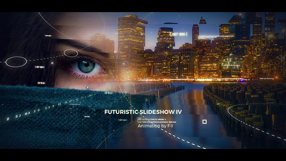 Futuristic Slideshow IV (Abstract)