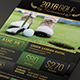 Elegant Charity Golf Tournament Flyer