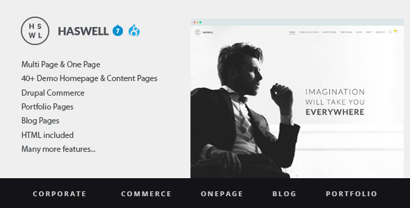 preview.  large preview - Haswell - Multipurpose One&MultiPage Drupal 7 & 8 Theme