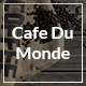 Cafe du Monde - Onepage Cafe & Bistro Template