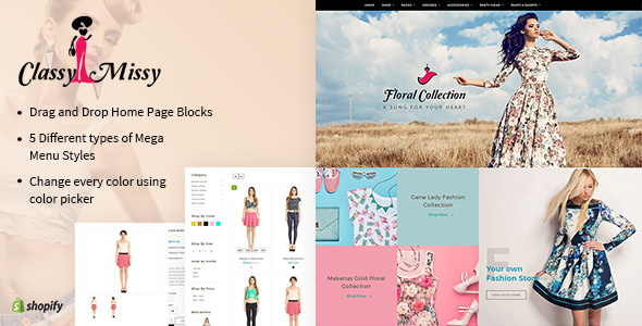 Download Classy Missy - A Fashion Store Shopify Theme nulled download