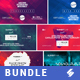 Electronic Music Event Facebook Post Banner Templates Bundle 2