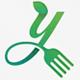 Food Letter / Letter Y Logo