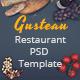 Gusteau - Restaurant PSD Template